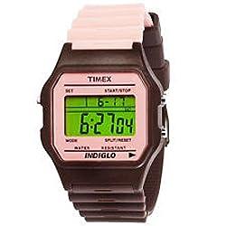 Unisex Timex T2N242@T80 CLASSIC STRAP PINK/BRWN