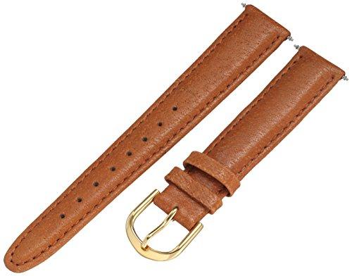 Voguestrap TX47316TN Allstrap 18mm Leather Calfskin Black Watch Strap