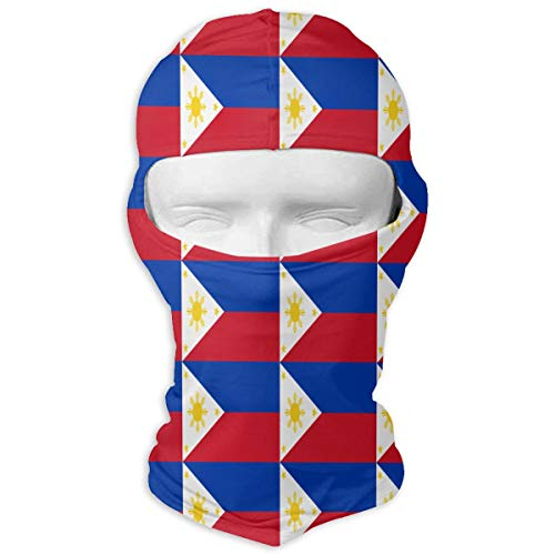 (Wind-Resistant Balaclava, Philippines Flag Cover Face Mask for Snowboarding)