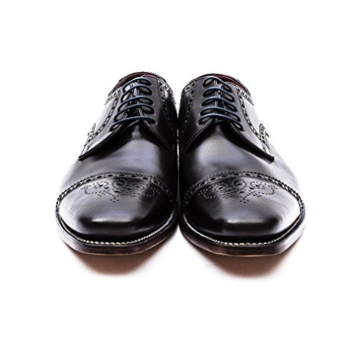 Loake Foley Mens Formelle Lacets Chaussures 9 UK/43 EU Noir
