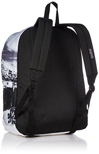 Backpack Label Mount Superbreak Adult Unisex Rainier Black Jansport wq7WtXzY
