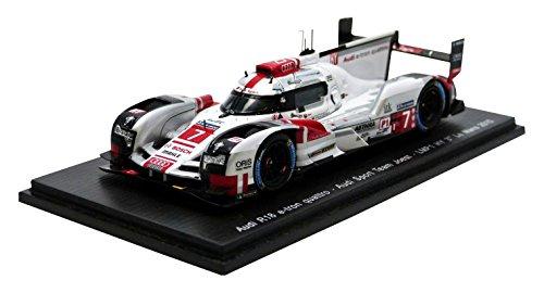 【Spark】1/43 Audi R18 e-tron quattro No.7 3rd LMP1 M. Fassler - A. Lotterer - B. Treluyer B01B5H2FG8