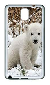 Polar Bear 2 Animal TPU Silicone Case Cover for Samsung Galaxy Note 3 N9000¨C White