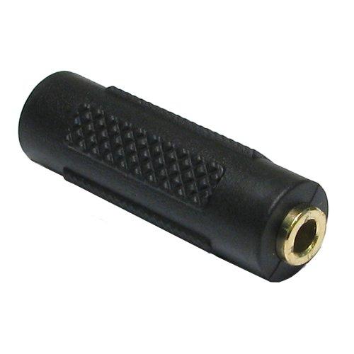 Kenable 3.5mm (3.5 mm) Jack Coupler Joiner - Stereo Headphone Jack GOLD (Joiner Cable Coupler)