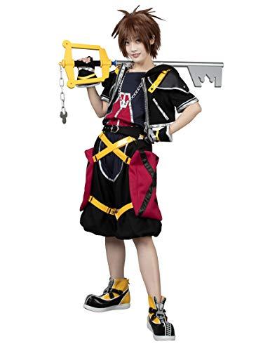 Kingdom Hearts Sora Halloween Cosplay (CosFantasy Sora 1th ver Cosplay Costume Halloween Full Set)