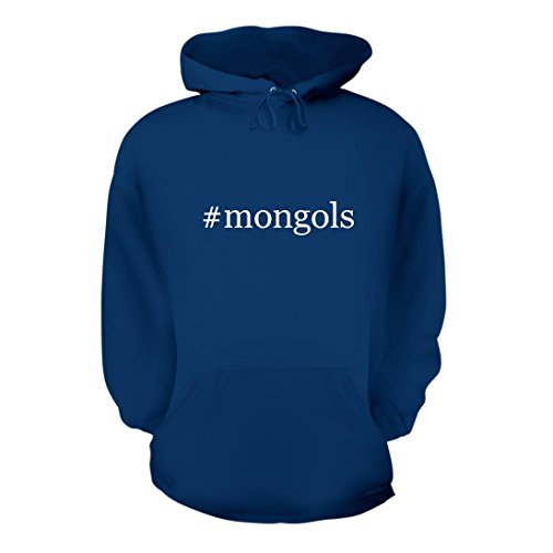 #mongols - A Nice Hashtag Men's Hoodie Hooded Sweatshirt, Blue, Large