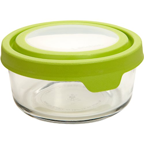 Anchor Hocking 2 Cup TrueSeal Round Glass Food Storage Container, Set of 4