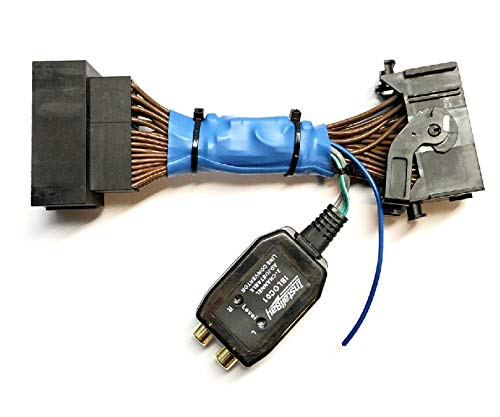 Add An Amp Amplifier Adapter Interface w/Amp Remote Turn On Wire to Factory OEM Car Stereo Radio System for select Chrysler Dodge Jeep Ram Vehicles - Add Subwoofer Bass Amp etc.- No Factory Premium Amp/Bose- Vehicles listed below (Factory System Adapter)