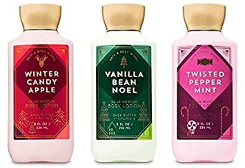 bath and body works holiday traditions christmas lotion gift set of 3 full size body lotions