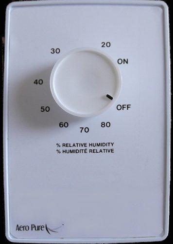 Aero Pure AP 100 MCS Bathroom Fan Moisture Control Sensor, White ()