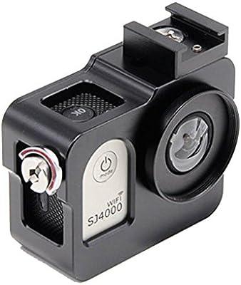 flycoo Marco para SJCAM SJ4000/SJ4000WIFI cámara de acción ...