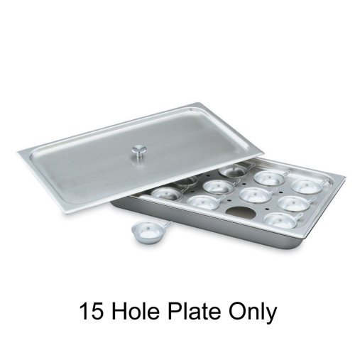 Vollrath Replacement S/S 15-Hole Plate for 75060 Full Size Egg Poacher (Vollrath Egg Poacher)