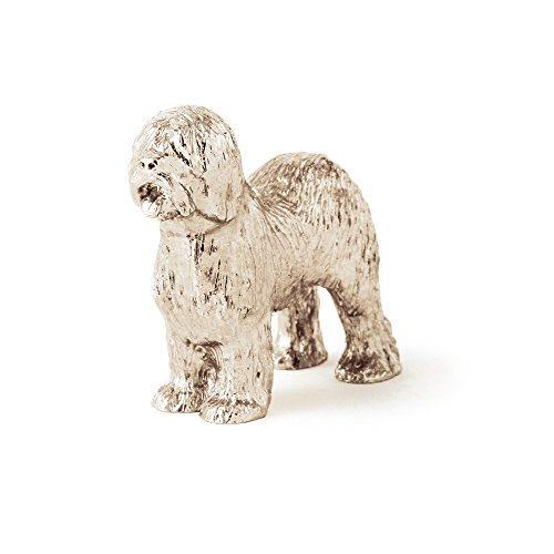 DOG ARTS JP Old English Sheepdog (Show Cut) Made in UK Artistic Style Dog Figurine Collection