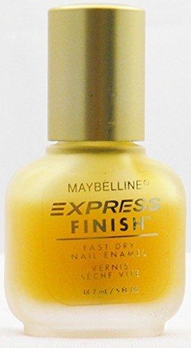 (Maybelline Express Finish Fast Dry Nail Enamel, MATTE MAKER, 0.5 Fl Oz)