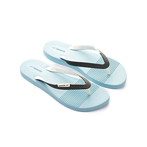 Speedo Saturate II Thong - sandalias de dedo de sintético mujer Chill Blue/USA Charcoal/W