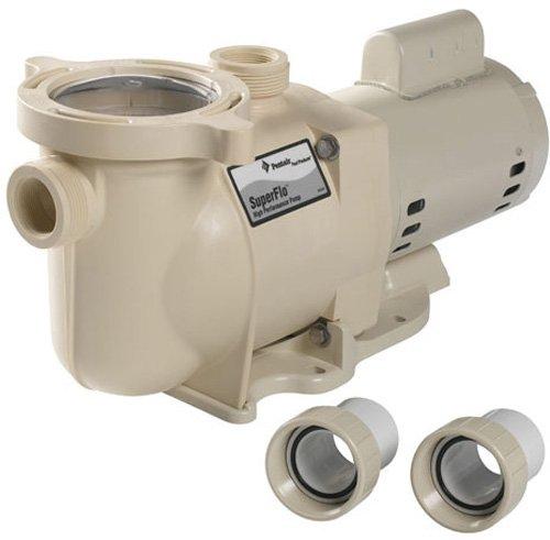 Pentair SF-N1-1AE SuperFlo Single Speed Energy Efficient Pump, 1 HP by Pentair