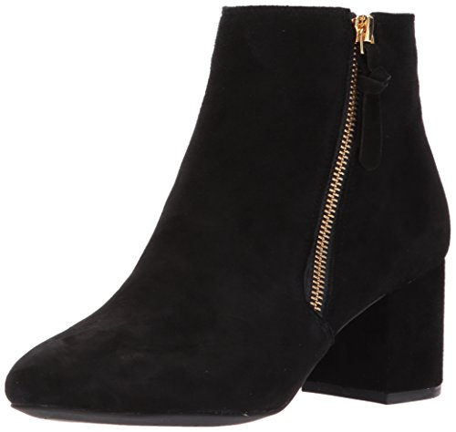 Cole Haan Women's Saylor Grand Bootie II Ankle Boot, Black Suede, 7.5 B US