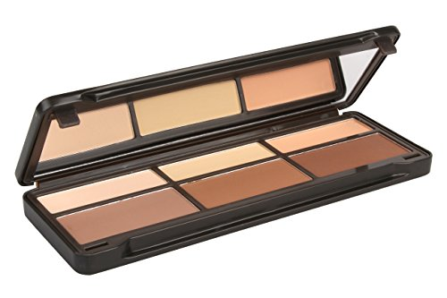 BYS Contour Palette (3x Contouring Powder, 3x Highlighting Powder) by BYS (Image #3)
