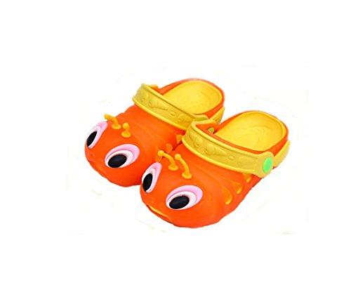Shi xiaoshu , Baby Mädchen Krabbelschuhe & Puschen Orange / Rot