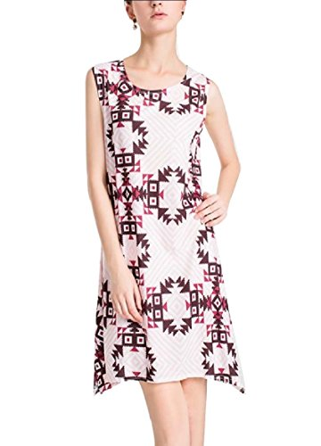 Coolred Printed Dress Women Lounge Tunic Tank Short Floral 5 Oversized PSP6nqarx