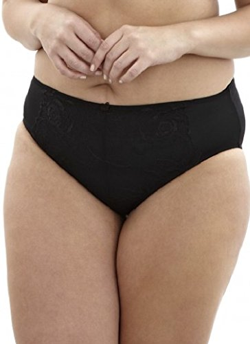 Sculptresse by Panach Women's Rosie Full Brief Panty, Black, (16) X-Large