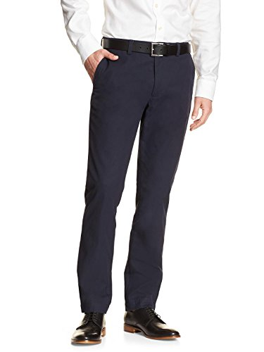 Banana Republic Men's Aiden-Fit Chino Pants True navy, 33X32