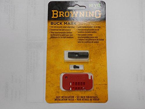 Browning, Buckmark HiViz Sight (Fiber Optic Sights For Browning Buckmark Pistol)