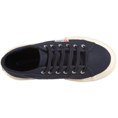 Superga 2754 Mid J - Zapatos con cierre de cordón Azul (Blau (Navy 933))