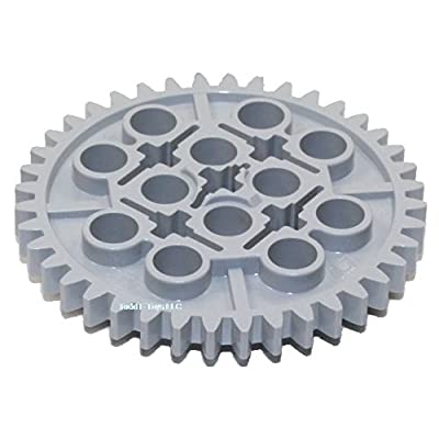 LEGO Technic Large Gear 40 Tooth Mindstorms NXT Light Grey Part 3649 Piece (Quantity 10 pcs): Toys & Games