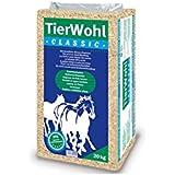 20 kg TierWohl Classic Pferdeeinstreu Boxen Einstreu Weichholzspäne Ballen