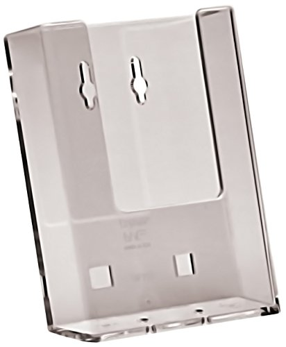 Taymar Single Pocket DL Leaflet Dispenser Holder for Wall Mounting