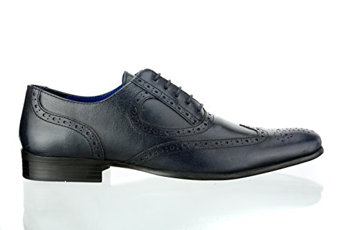 Red Tape Men Carlow Blue Formal Shoes