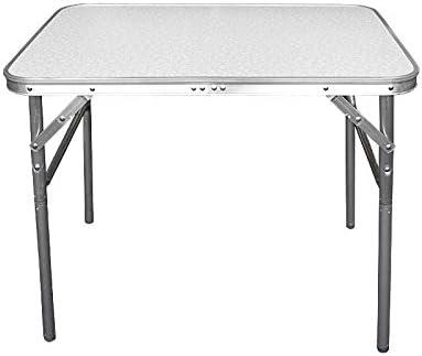 Wohaga® Mesa de Camping plegable aluminio 75 x 55 x 60 cm ...