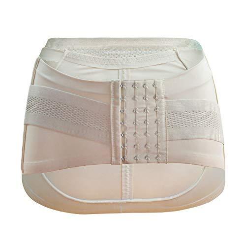 Black EUTUOPU Hip-Up Belt Support Belt Corrector Pelvic Posture Women Breathable Maternity Small S