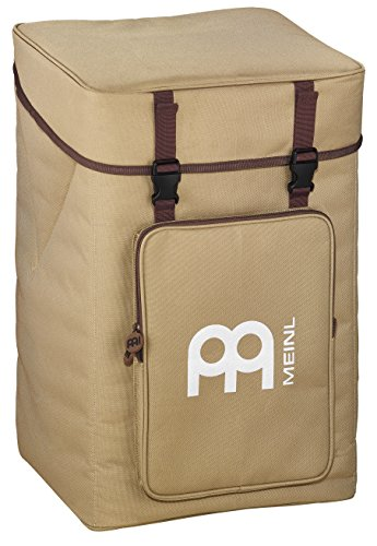 Tambourine Carrying Case - Meinl Percussion MCJB-BP Professional Cajon Backpack, Beige