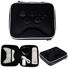 HDE Gamepad Airform Hard Carrying Case Travel Bag for Xbox 360 Controller w/ Strap