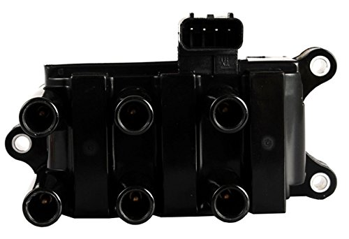 Ignition Coil Pack for 01-08 Ford - F150 Ranger Freestar Mustang Taurus - Mazda B3000 - Mercury Sable Monterey - V6 3.9L 4.0L 4.2L 2.5L 3.0L 3.8L Compatible with C1312 DG485 FD498 ()