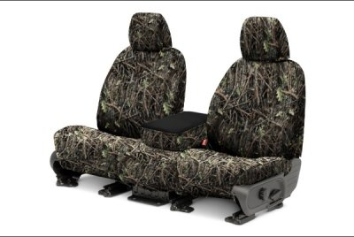 Covercraft SS2412TTCG SeatSaver True Timber Camouflage Bucket Seat Cover for Ford F150 (Covercraft True Timber Camo)
