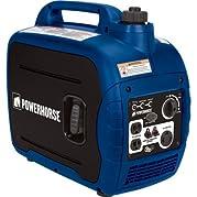 Powerhorse Gas Powered Portable Inverter Generator - 2,000 Starting / 1,600 Running Watts, Quiet CARB-Compliant...