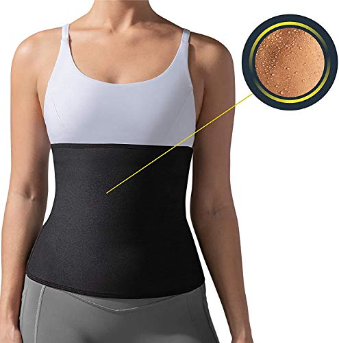 Amextrian Slim Belt for Fat Burning | Slimming Belt | Shaper Belt | Tummy Trimmer Exerciser | Waist Trainer for Men and Women Price & Reviews