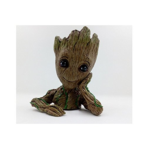 Groot Action Figures Guardians of The Galaxy Milky Way Convoy Mini Toy Pen Pot Gifts Flowerpot Cute Model