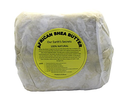 Ivory Raw Unrefined Shea Butter Top Grade, 1 Pound - Our Earth's Secrets