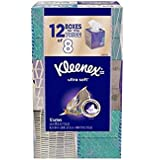 Kleenex Ultra Soft Facial Tissue White (12 Boxes 85/Box)