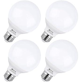Kindeep G25 Led Bulb E26 Base 9w 72w Equivalent 2700k