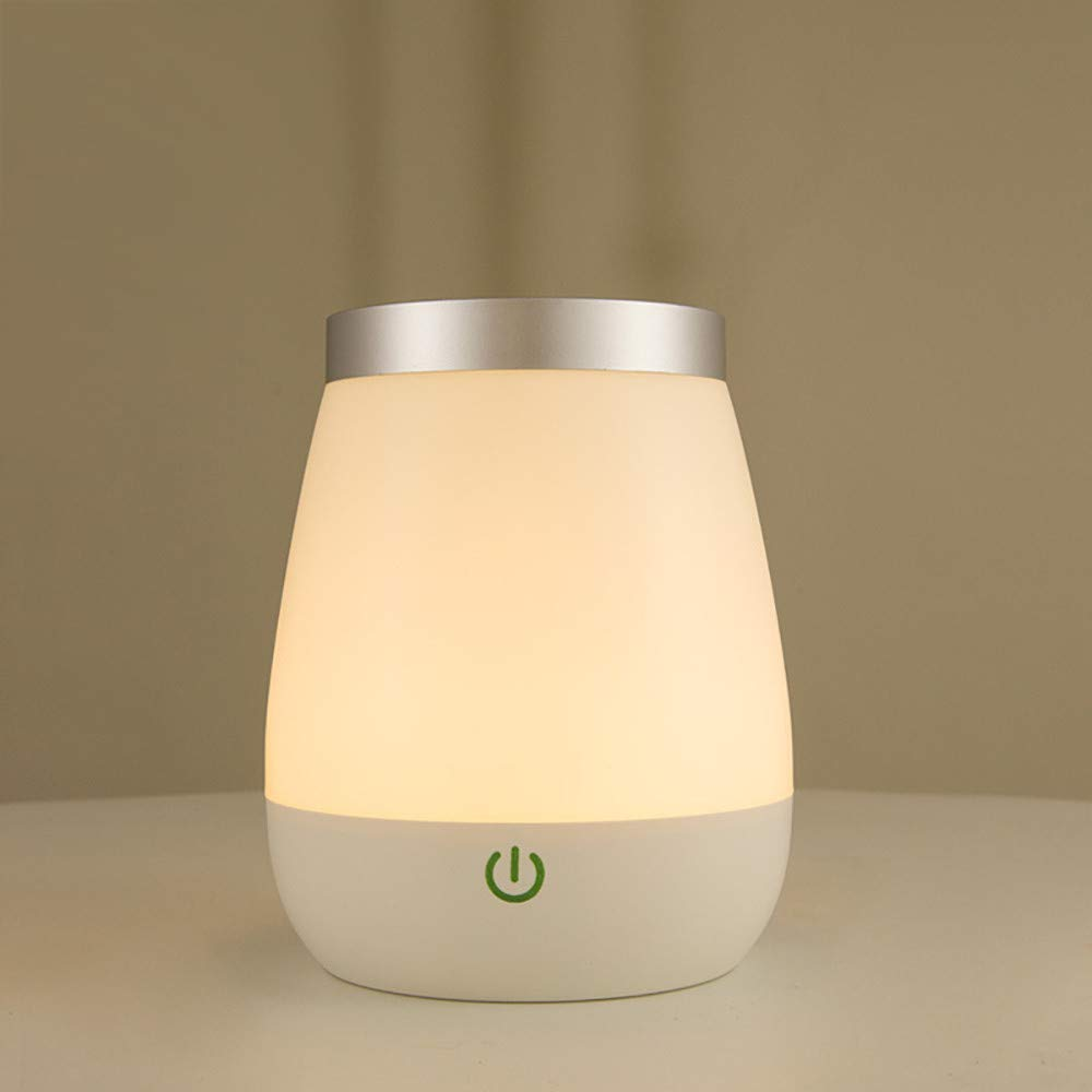 Basde LED Night Light, Vase Table Lamp LED Rechargeable Night Light with Sensor Desk Bedsies Lamp Touch Control for Baby Room Bedroom Living Room and Office Decorations by Basde (Image #7)
