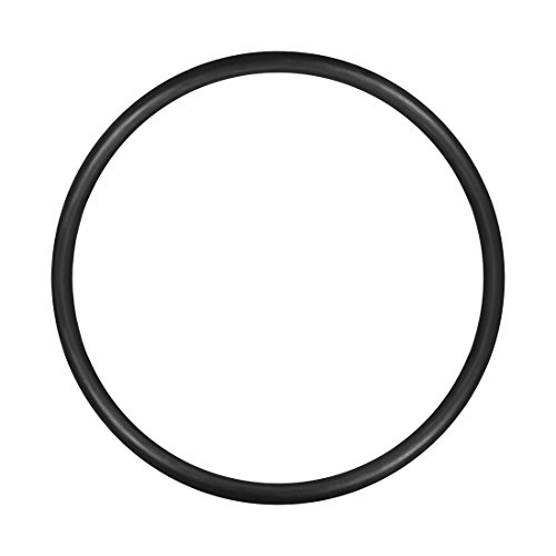 (uxcell O-Rings Nitrile Rubber, 28mm Inner Diameter, 32mm OD, 2mm Width, Round Seal Gasket(Pack of)
