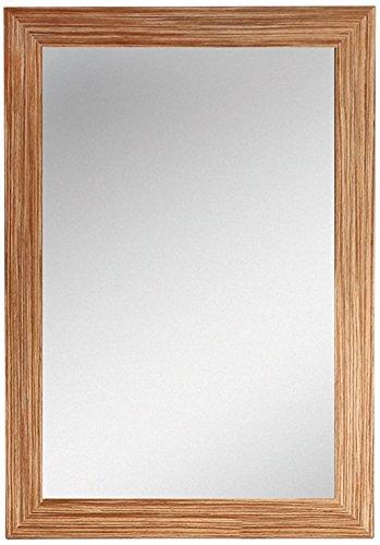 """Fine Fixtures IRM30ZE Ironwood Mirror, 30"""", Red Zebra"""