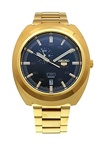 SEIKO 5 ''Diastar'' Sports 100M Retro Automatic Gold Watch SSA284K1 by Seiko Watches