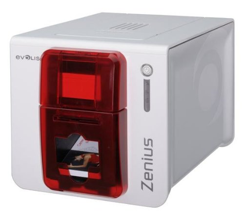 Evolis Classic Zenius Dye Sublimation/Thermal Transfer Printer - Color - Desktop - Card Print ZN1U0000RS