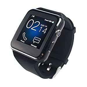 Bluetooth Smartwatch, IOQSOF Smart Wrist Watches for Android IOS iPhone Samsung Huawei Sony Sleep Tracker Support Micro SIM Card ,Men Women Kids Boys Curved Screen Smartphones